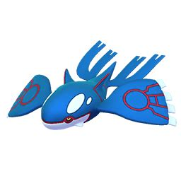 kyogre has been added in game : thesilphroad