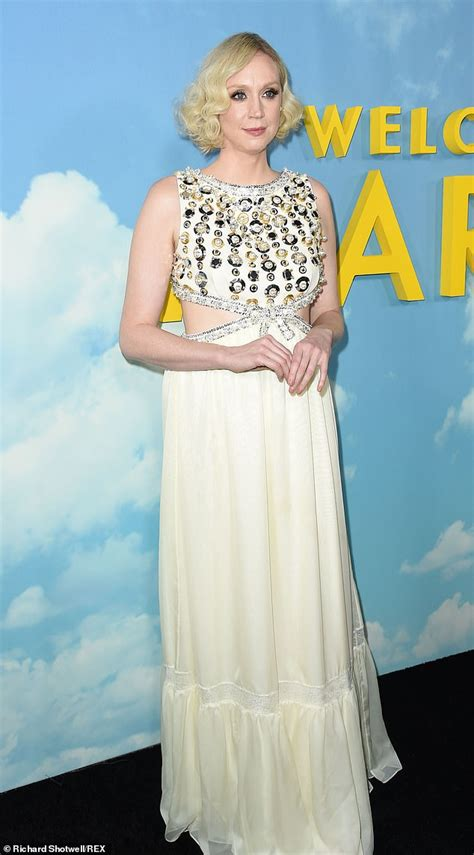 actress game of thrones and star wars diane kruger stuns in metallic semi sheer dress at