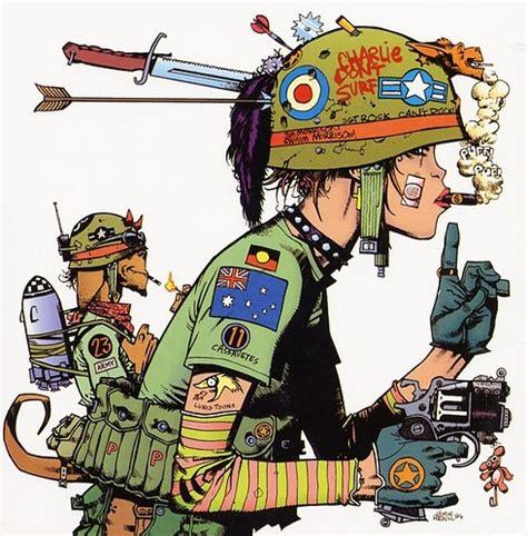 animation, army, cartoon, color, comic, comics image