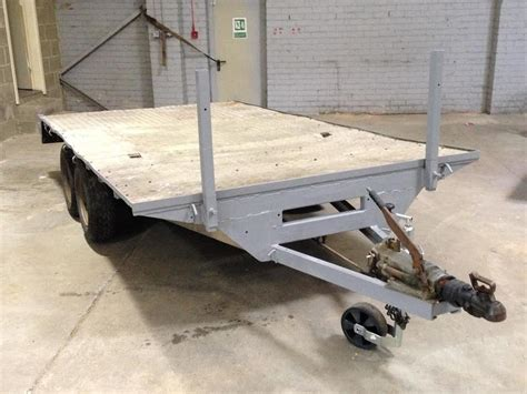 flat bed trailers for sale secondhand trailers flat bed trailers heavy duty twin