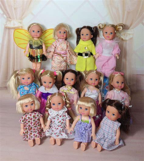 10x Kid Mini Dress Dolls Fashion Clothes Mixed Style For Pa get cheap doll set aliexpress alibaba