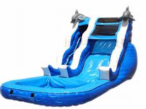 Backyard Bouncers Cheap Inflatable Dolphin Water Slide Review Discount
