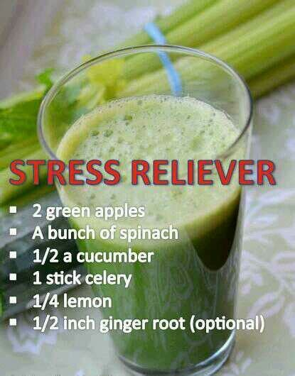 Stress Relief Detox Drink by Stress Relief Trick Make Yourself A Smoothie With Apples