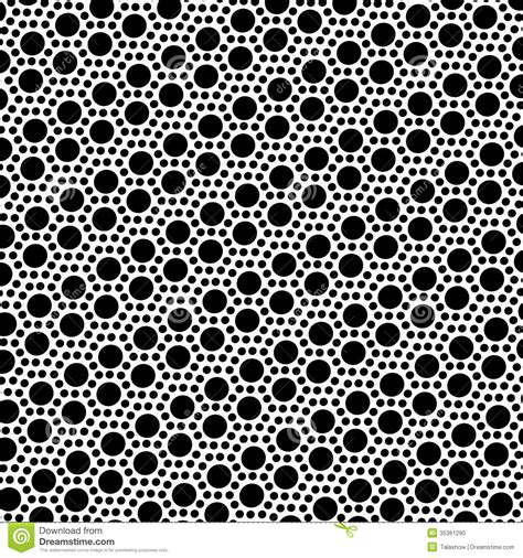 pattern simple black and white simple black and white dot seamless pattern stock photo