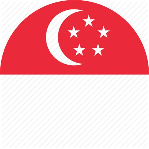 flags of the world round circle circular country flag flag of singapore flags