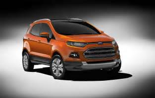 Used Cars In Delhi Ford Ecosport Ford Previews All New Ecosport At Auto Expo 2012 In New