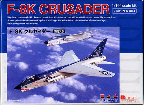 libro vought f 8 crusader development platz 1 144 f 8k crusader previewed by scott van aken
