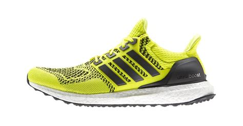 mens adidas ultra boost running shoes color yellowblack