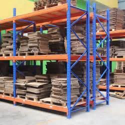 2000kg blue orange pallet heavy duty shelving