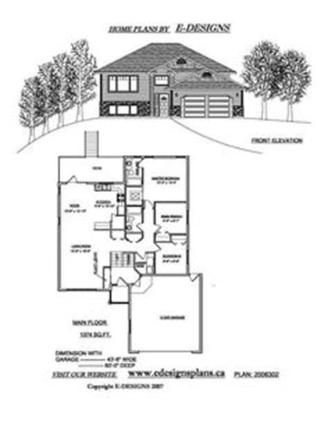 Bi Level House Plans With Garage Bi Level House Plan With A Bonus Room 2010542 By E Designs Split Ebtry House