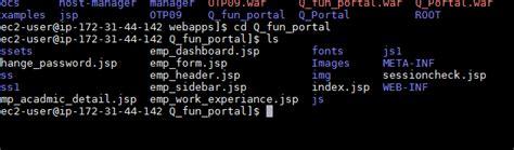 jsp   host java application  aws ec linuix