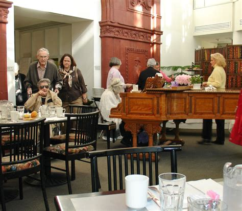 The Dining Room At The Society by Elderhostel At The Chicago Historical Society On The Gold