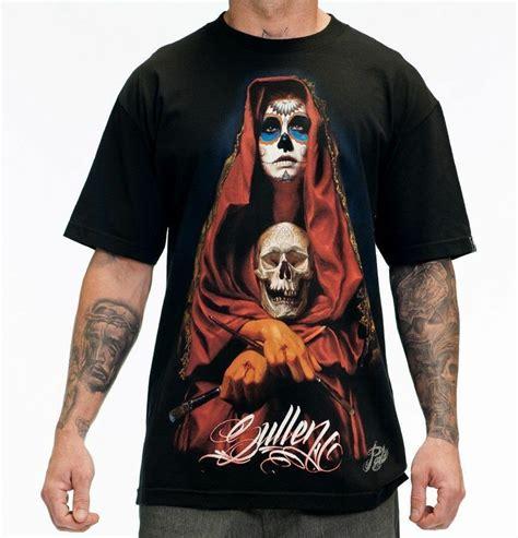 sullen tattoo sullen clothing acuna badge skull t