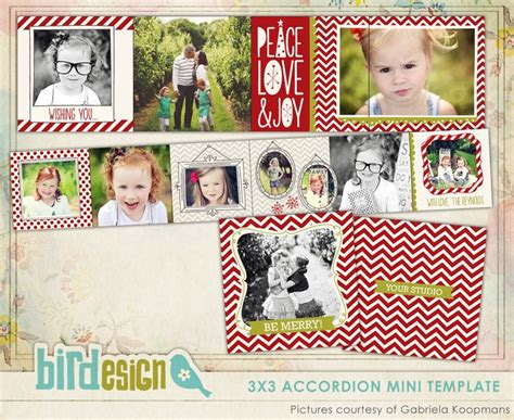 accordion photo cards templates 44 best images about photo card templates ideas on