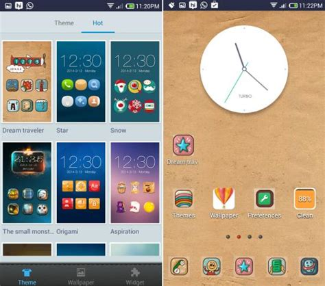 turbo launcher ex for android turbo launcher ex for android lightweight themes widgets