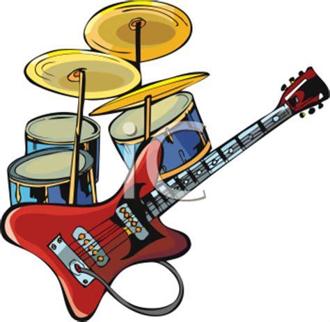 guitar drum musical pictures guitar clip clipart panda free