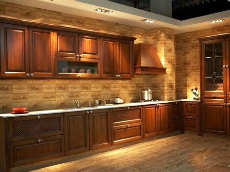 design customize american solid wood kitchen cabinets  solid wood door panel