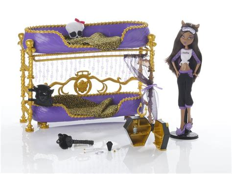 monster high beds for dolls monster high dolls clawdeen wolf bed images