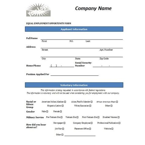 free employment application templates employment application template microsoft word