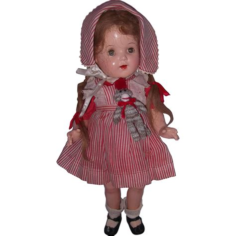 composition dolls 1930s pretty a o 1930s composition 16 quot doll from