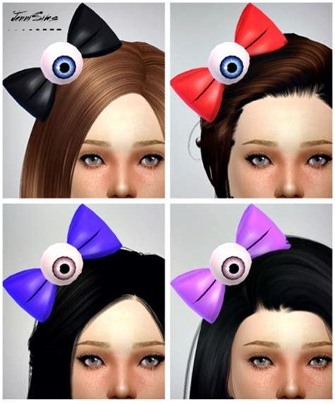 flowers bow headband at jenni sims 187 sims 4 updates sims 4 cc hair bows hair bow sims 4 custom content sims