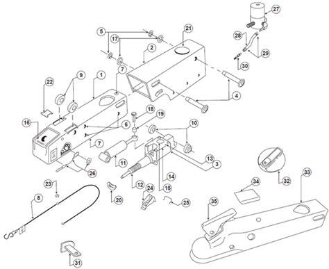 trailer wiring diagram surge brakes k