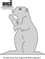 printable prairie dog targets safari club international