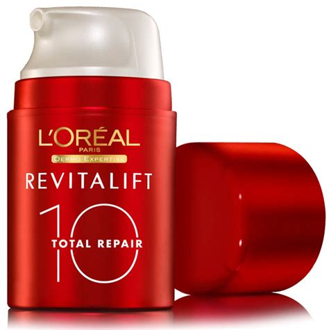 Loreal Revitalift i was on expresso the other day my co l oreal revitalift total repair 10 lipgloss is my