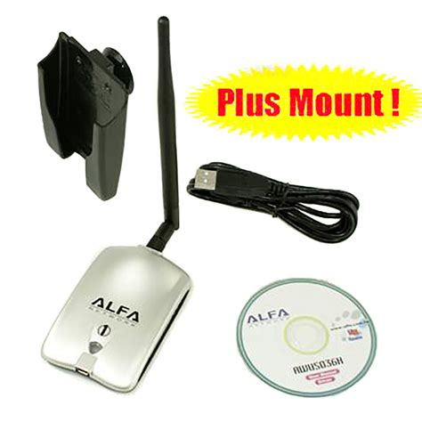 Alfa Wireless Usb Adapter alfa awus036h realtek rtl8187l 1000mw wireless g usb wlan