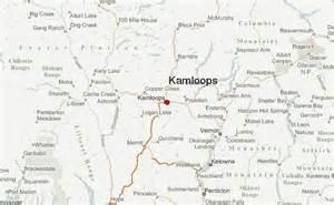 maps kamloops bc canada kamloops location guide