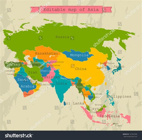 all maps asia map with all countries arabcooking me
