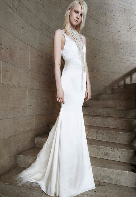 Vera Wang Bridal Spring 2015 Wedding Dresses