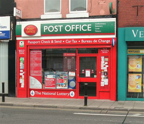 Post Office by Reddish Post Office Stockport Office Services Opening