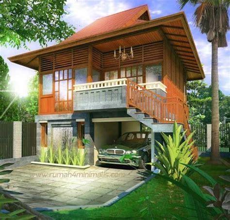 desain rumah kayu minimalis klasik  sederhana membangun rumah  dibangun  bahan