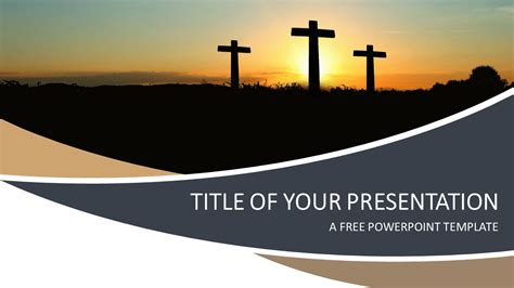 Religion PowerPoint Template - PresentationGO.com 16:9 Powerpoint Christian Templates Free