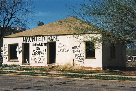 haunted house st george ut flickr photo