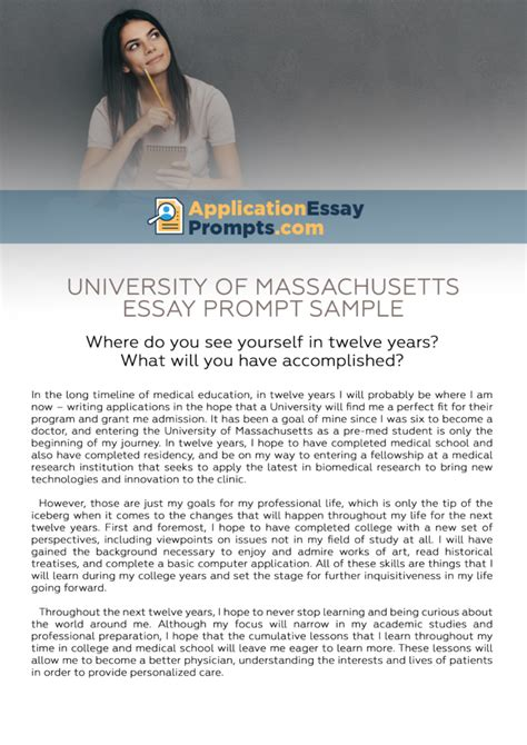 Daunting Challenge Essay by Writing Answers To Umass Amherst Essay Prompts Application Essay Prompts