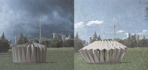 aufklappbarer pavillon solar responsive pavilion hali larsen