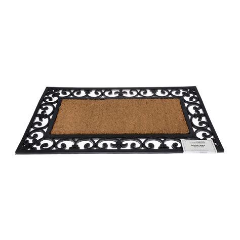 Large Coir Door Mats Outdoor Coir Rubber Door Mat Indoor Outdoor Use Large Wrought Iron
