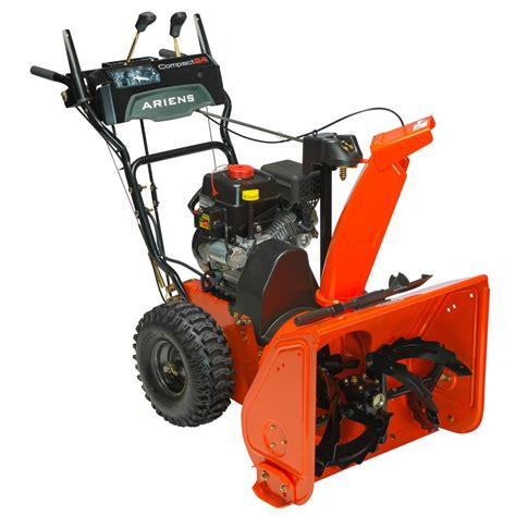 ariens compact 24 in 2 stage electric start gas snow