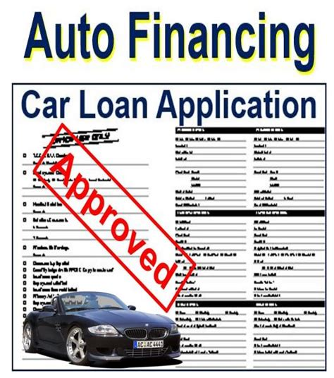 Auto Financing by Auto Financing Definition And Meaning Market Business News