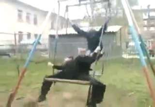 swing accident unexpected swing accident video ebaum s world