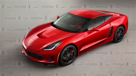 Chevrolet Corvette C8 by Chevy Corvette C8 Render Previews Mid Engined Future