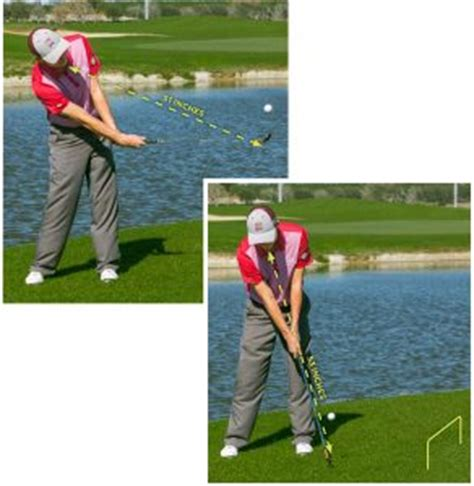 scooping golf swing don t scoop the clubhead golf tips magazine