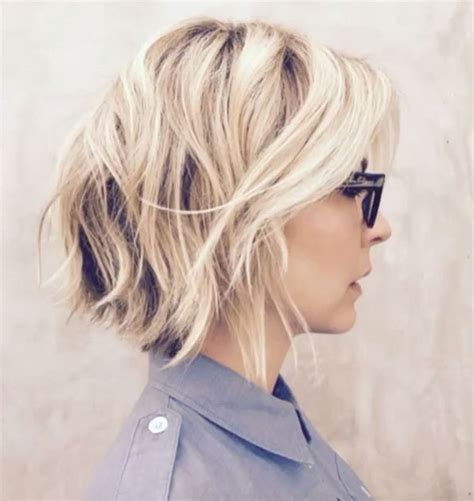 inverted shag hairstyles short choppy inverted bob hairstylegalleries com
