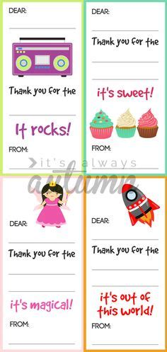 Simple Thank You Note To Kindergarten Thank You Note Template For Free Teaching Cas And Inner Child