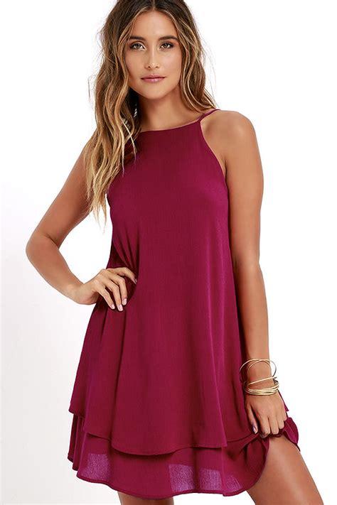 swing kleid pink berry pink dress swing dress sun dress 45 00