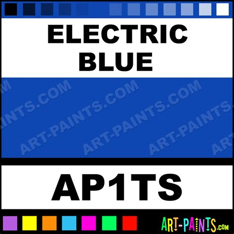 electric blue ink colors ink paints ap1ts electric blue paint electric blue color