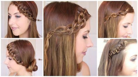 courtney act hair tutorials 4 braided headband hair tutorials courtney lundquist