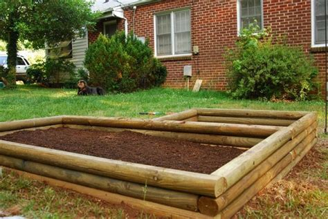 unique landscaping timber projects  ideas planted